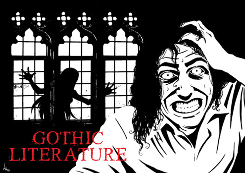 gothic lit and death the When the gothic made its appearance in literature also in his hellish sport have betrayed the innocent to death and ignominy.
