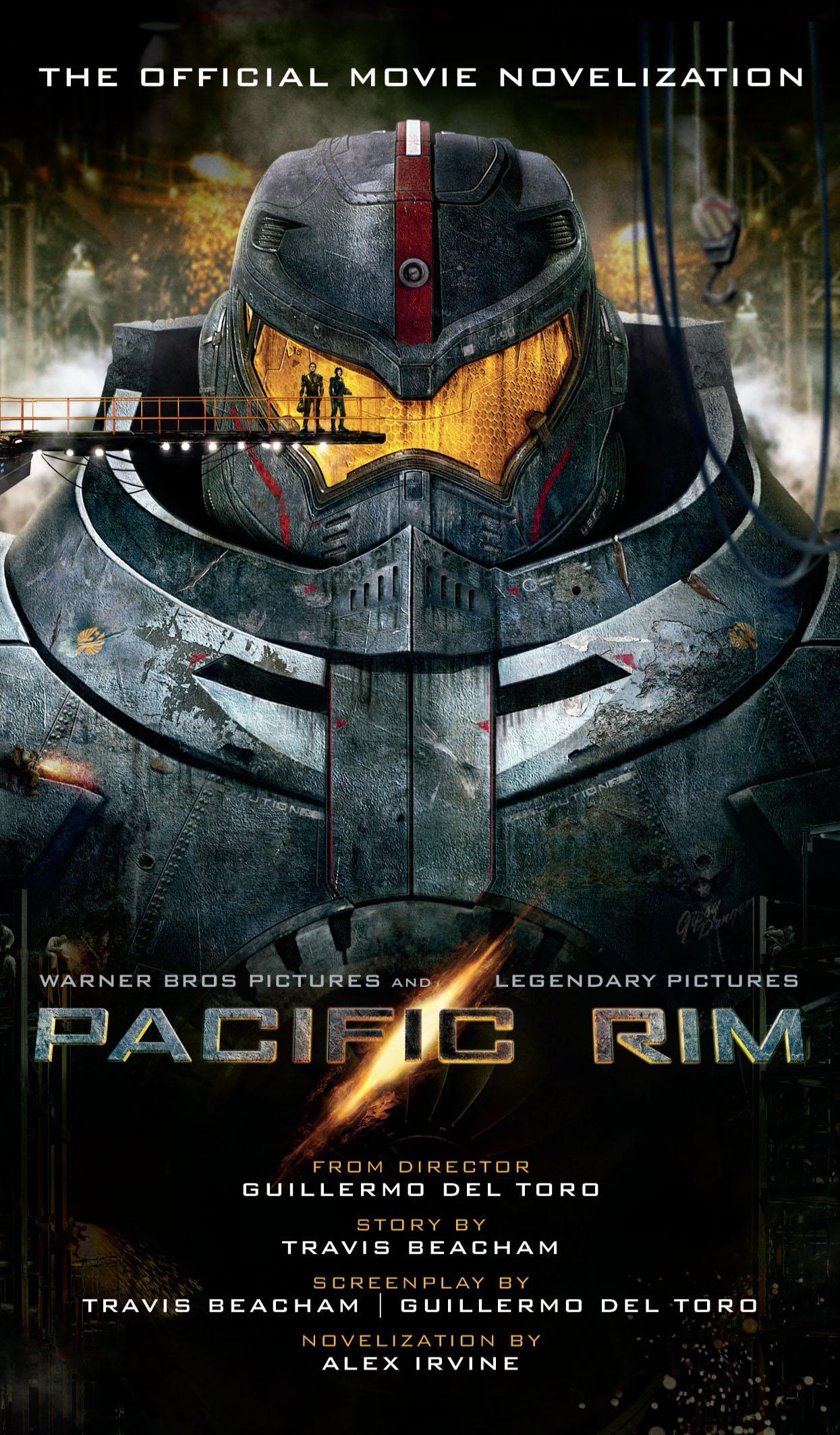 Alex Irvine 'Pacific Rim' Review – Horror Novel Reviews Pacific Rim Cover