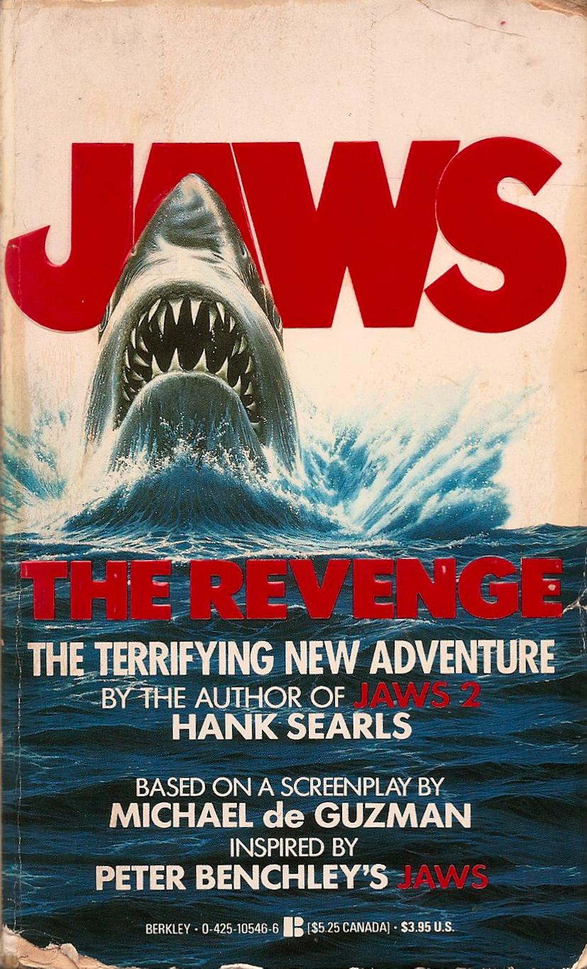 Jaws Book Cover Art : Author dan west reviews hank searls 'jaws the revenge