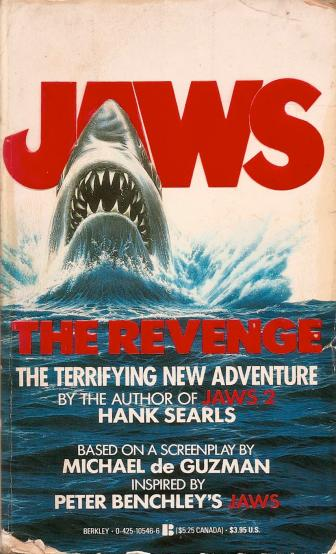 Jaws The Revenge cover