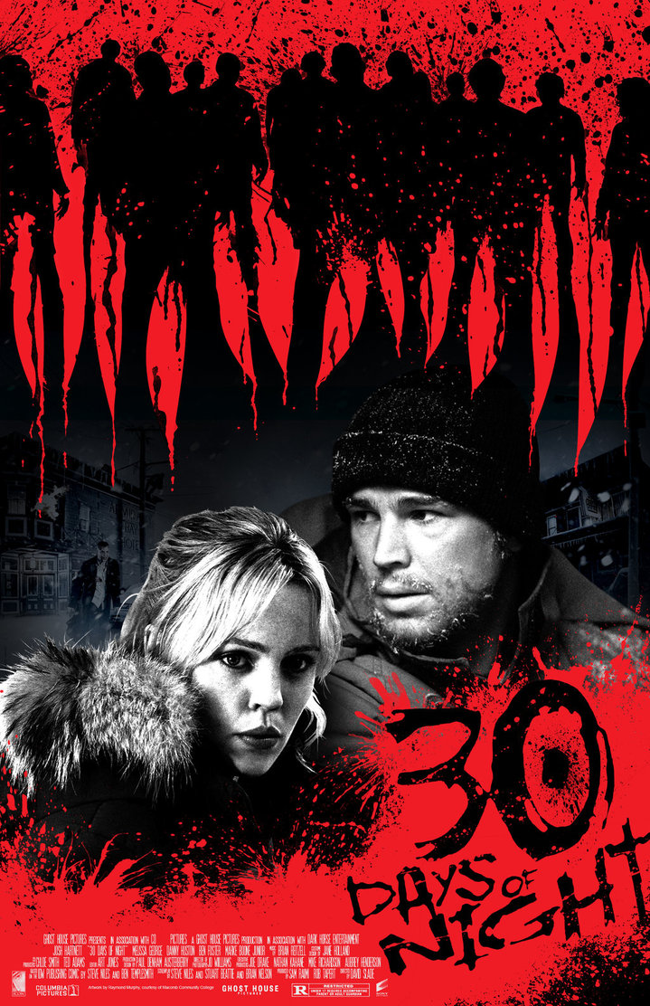Movie Talk 30 Days Of Night Dvd Review Horror Novel Reviews