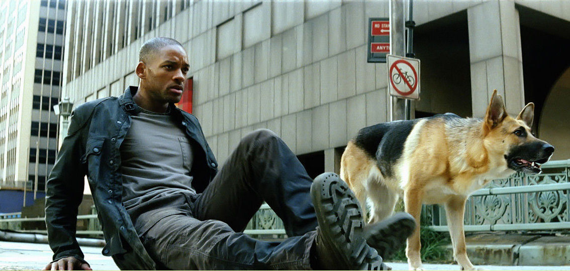 The Will Smith version of I Am  I Am Legend Vampires