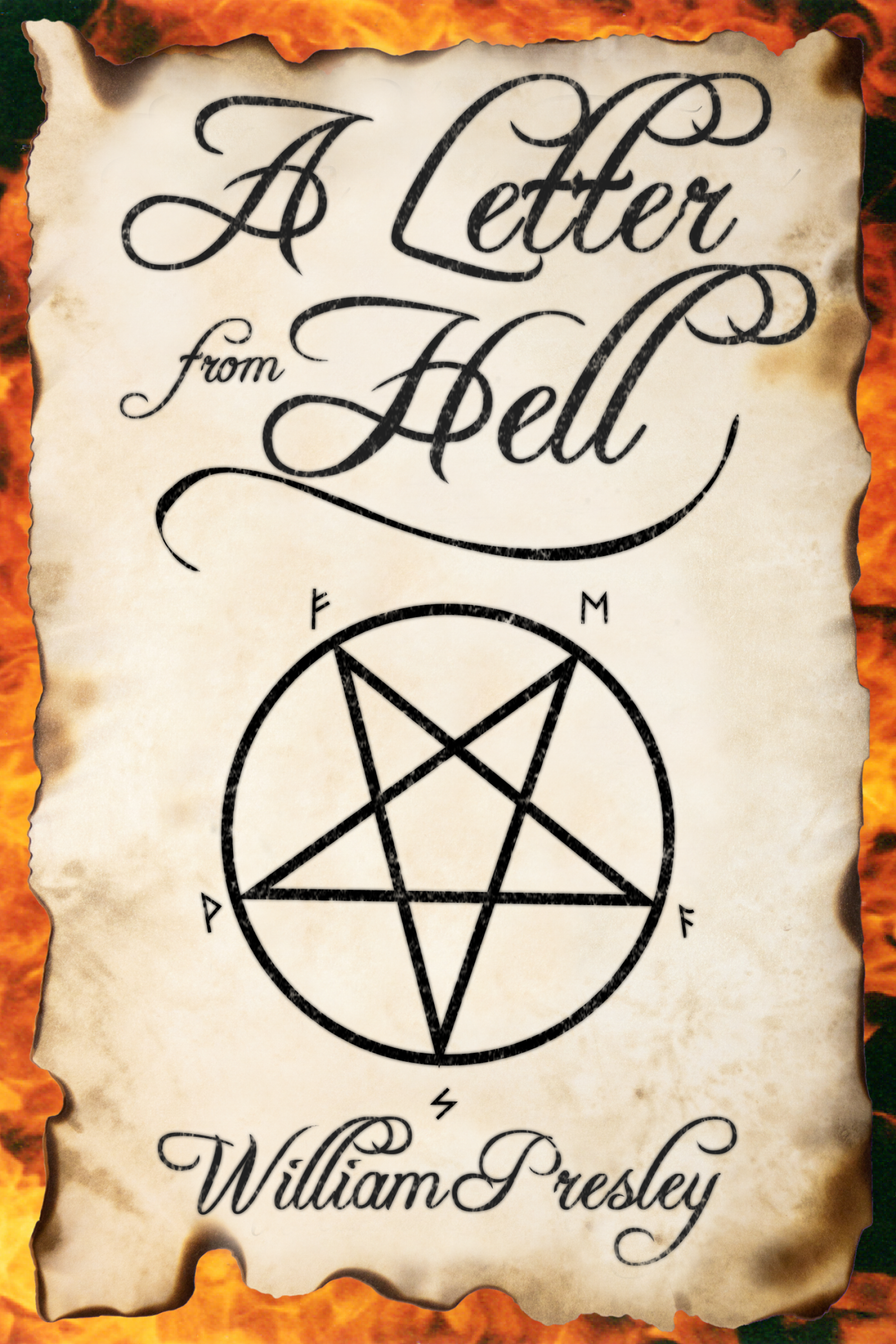 William Presley 'A Letter from Hell' Review | Horror Novel Reviews