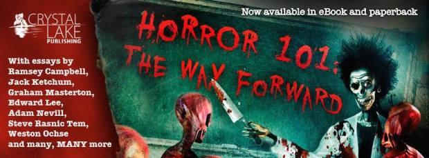 Horror 101 paperback banner