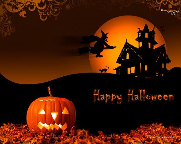 written - Cool Happy Halloween Pictures