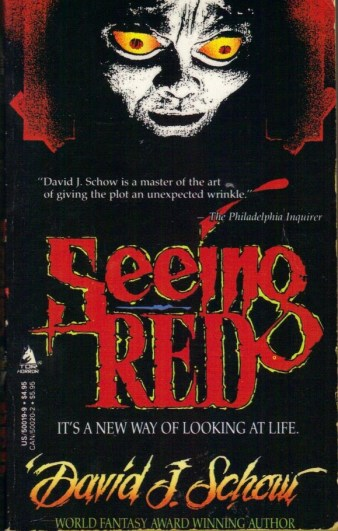 Seeing Red David J Schow 1990 Tor Books Horror