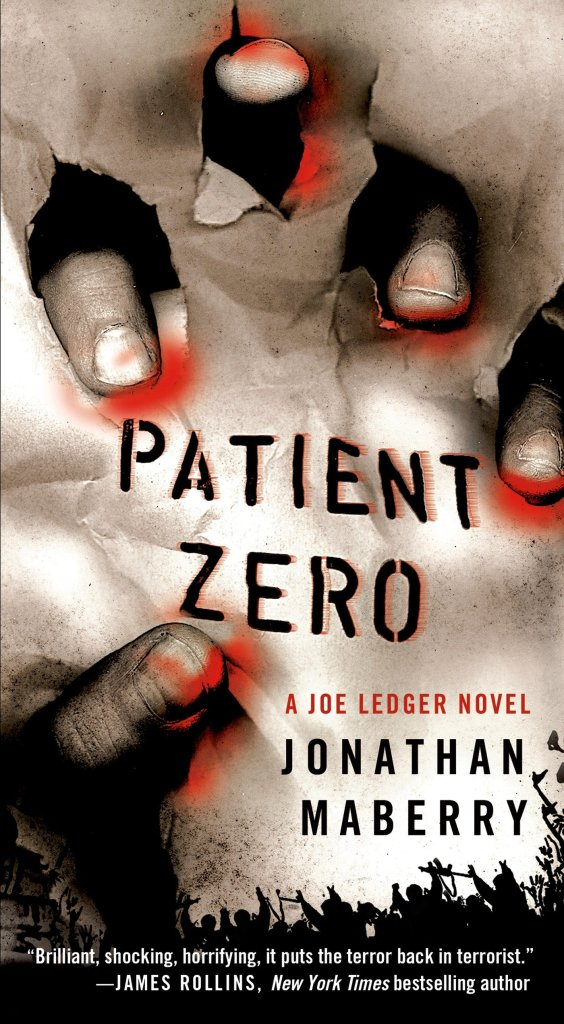 Jonathan Maberry Patient Zero Cover