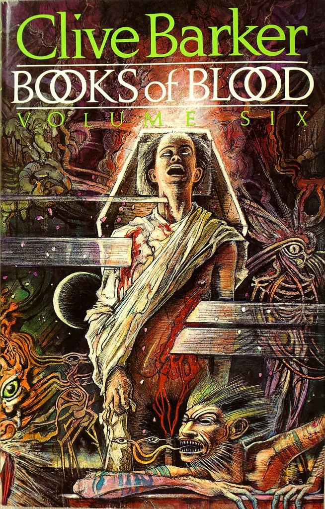 blood books volume barker clive horror novel