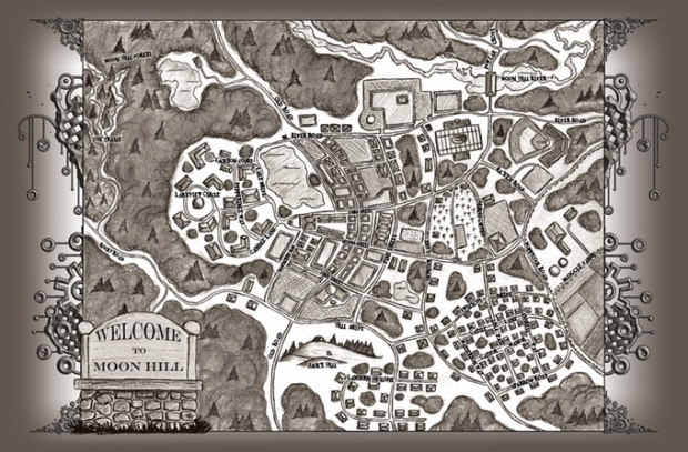 moon hill map