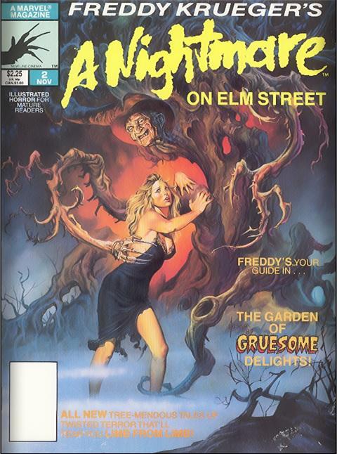 Freddy Kruegers Nightmare on Elm Street Number Two Cover