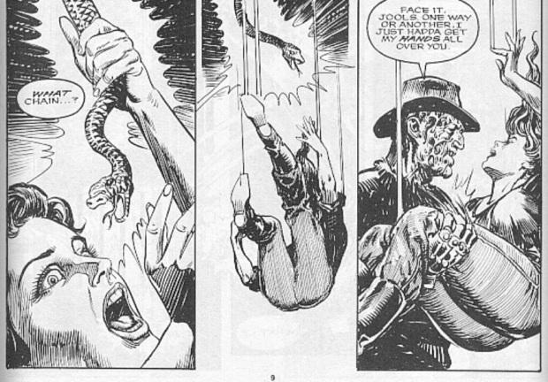 Freddy Kruegers Nightmare on Elm Street Number Two its Love