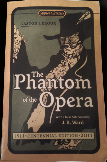 Phantom of the Opera Book Cover