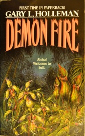 Thrift Store Finds: Demon Fire by Gary L. Holleman