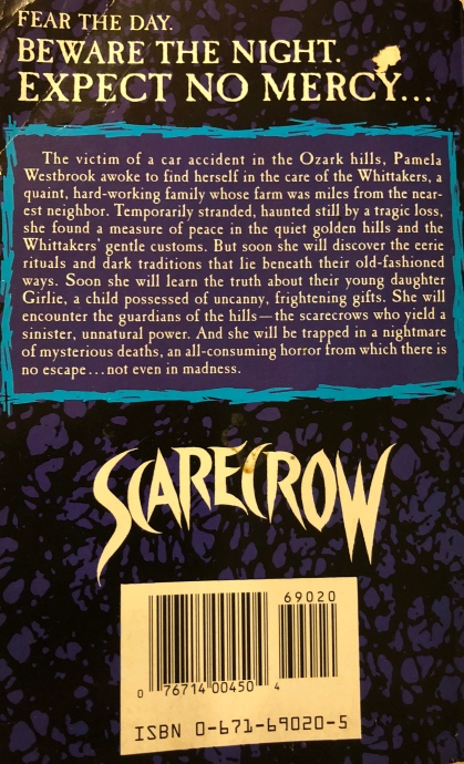 Scarecrow_review_book_back_cover